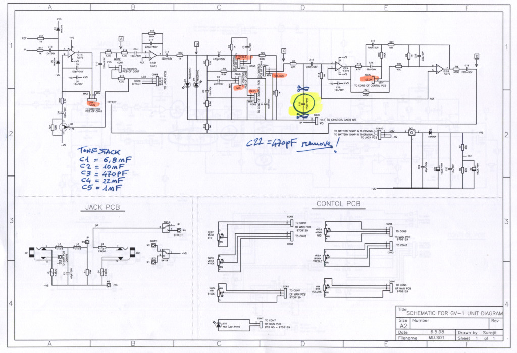 Marshall GV-2-schematic